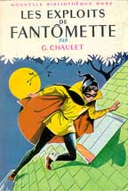 Geirges Chaulet's Fantomette - Art by Jeanne Hives
